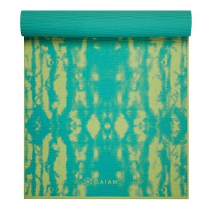 GAIAM MATA DO JOGI DWUSTRONNA TURQUOISE LOTUS 6 MM 62344